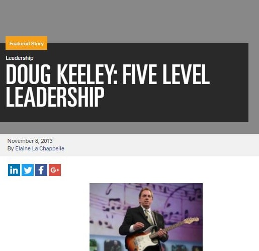 Leadership: Doug Keeley five level leadership