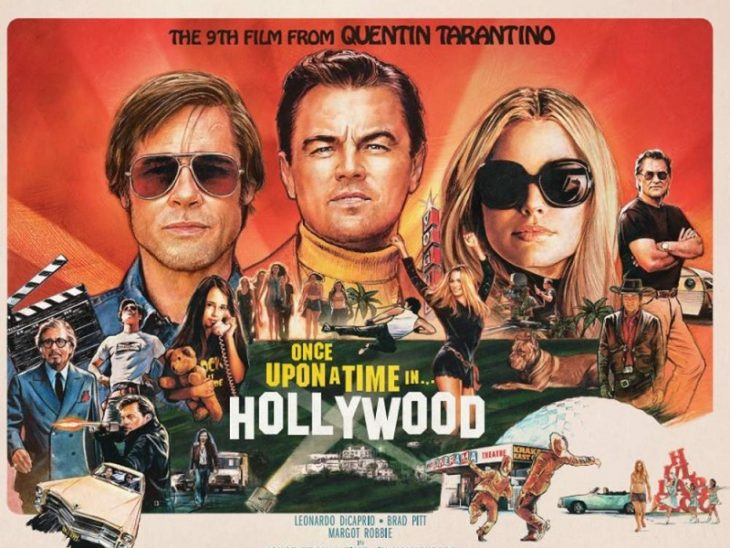 Once Upon a Time in Hollywood movie poster showing why context is important in storytelling