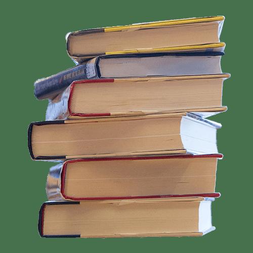 6 books stack
