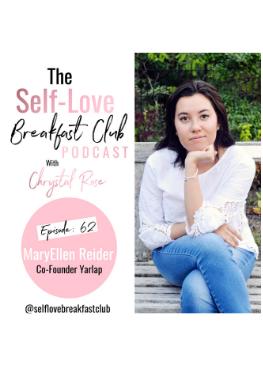 Self Love Breakfast Club podcast, Chrystal Rose, MaryEllen Reider, pelvic floor, kegel exercises