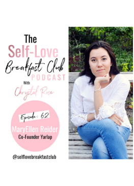 Self Love Breakfast Club podcast, Chrystal Rose, MaryEllen Reider, pelvic floor, kegel exercises