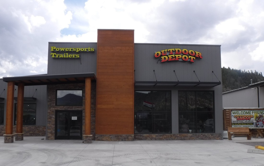 Outdoor Depot's creative commercial signage
