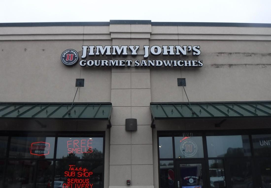 Restaurant Sign Jimmy John's
