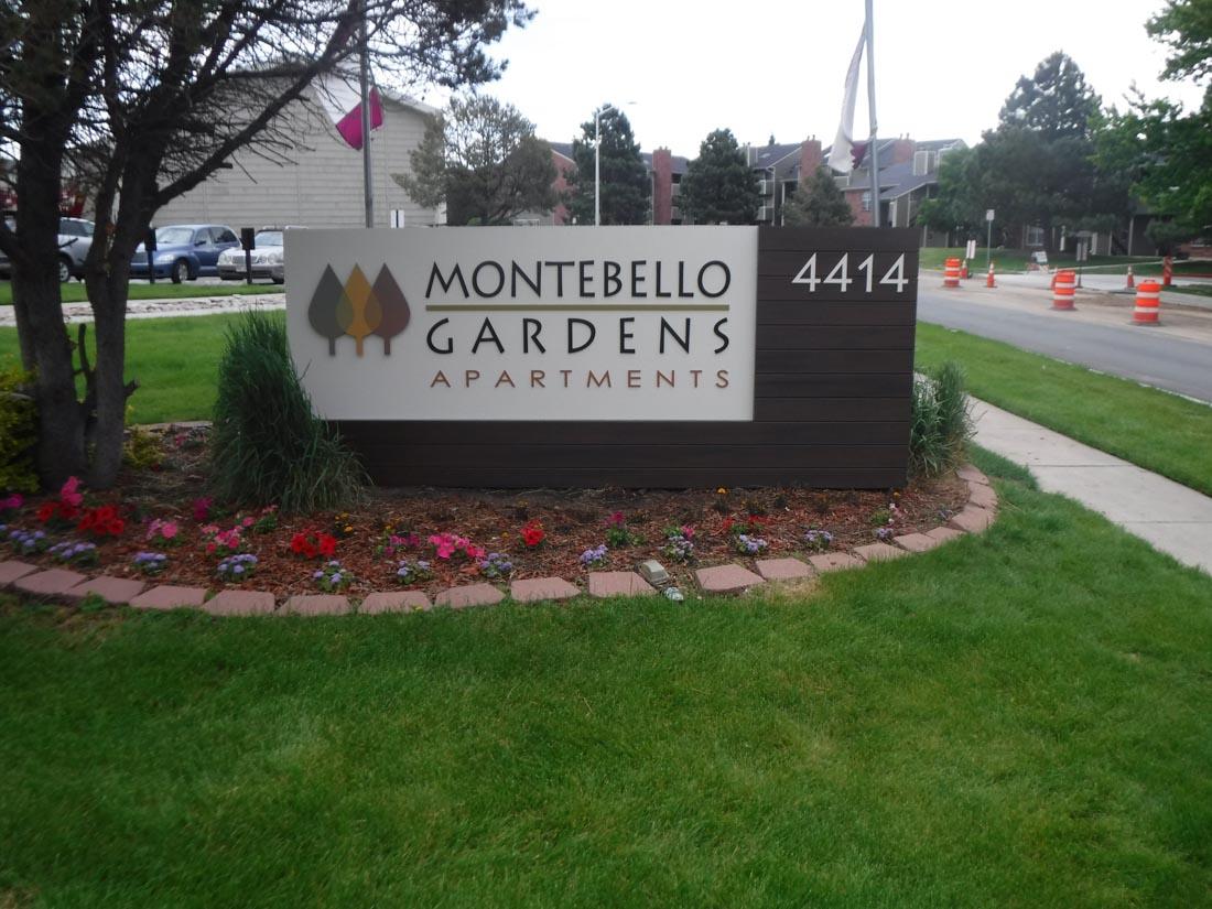 Monument signage for Monte Bello Gardens