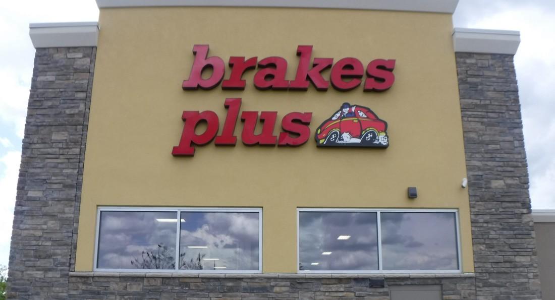 3D channel letter brake plus
