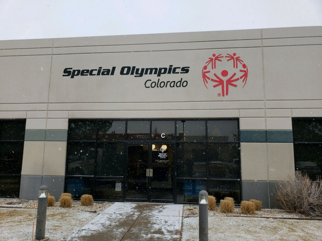 Special Olympics Wall Signage