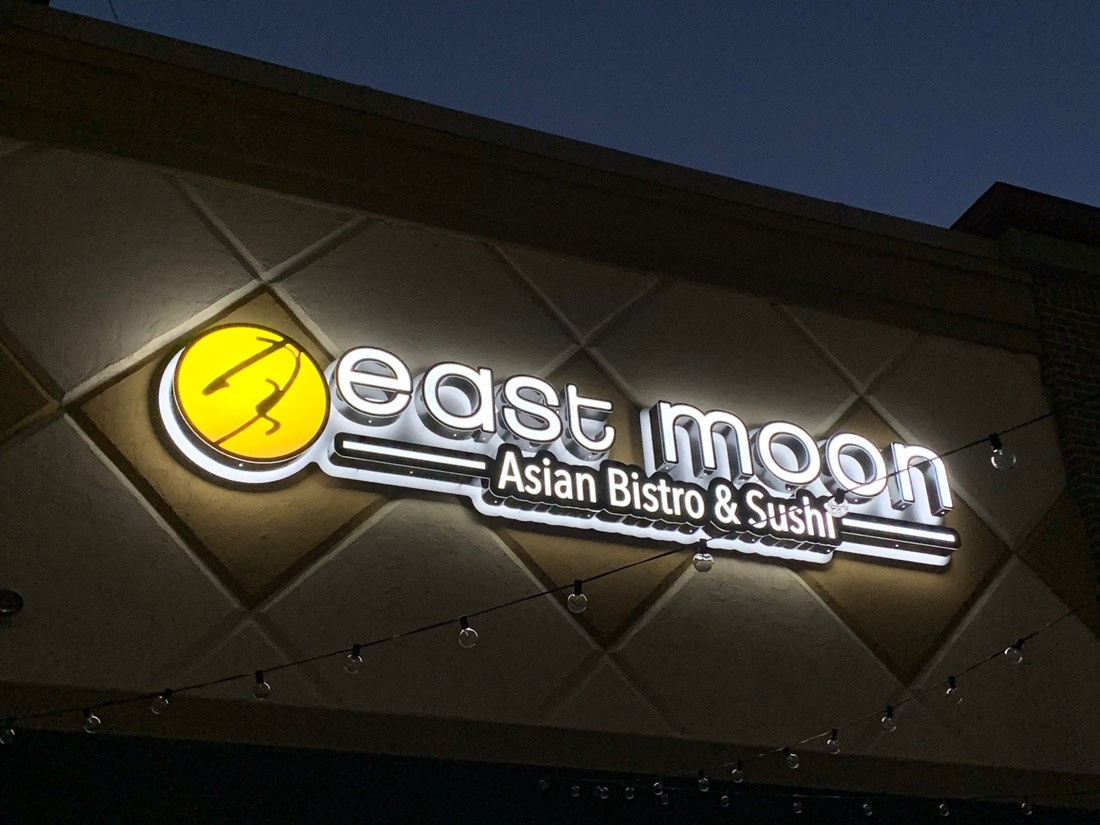 Asian Bitro Illuminated Channel letters
