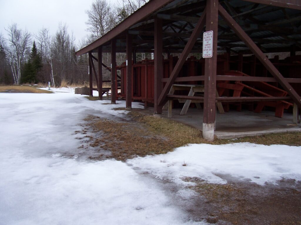 Clover Town Park Pavilion in need of repair