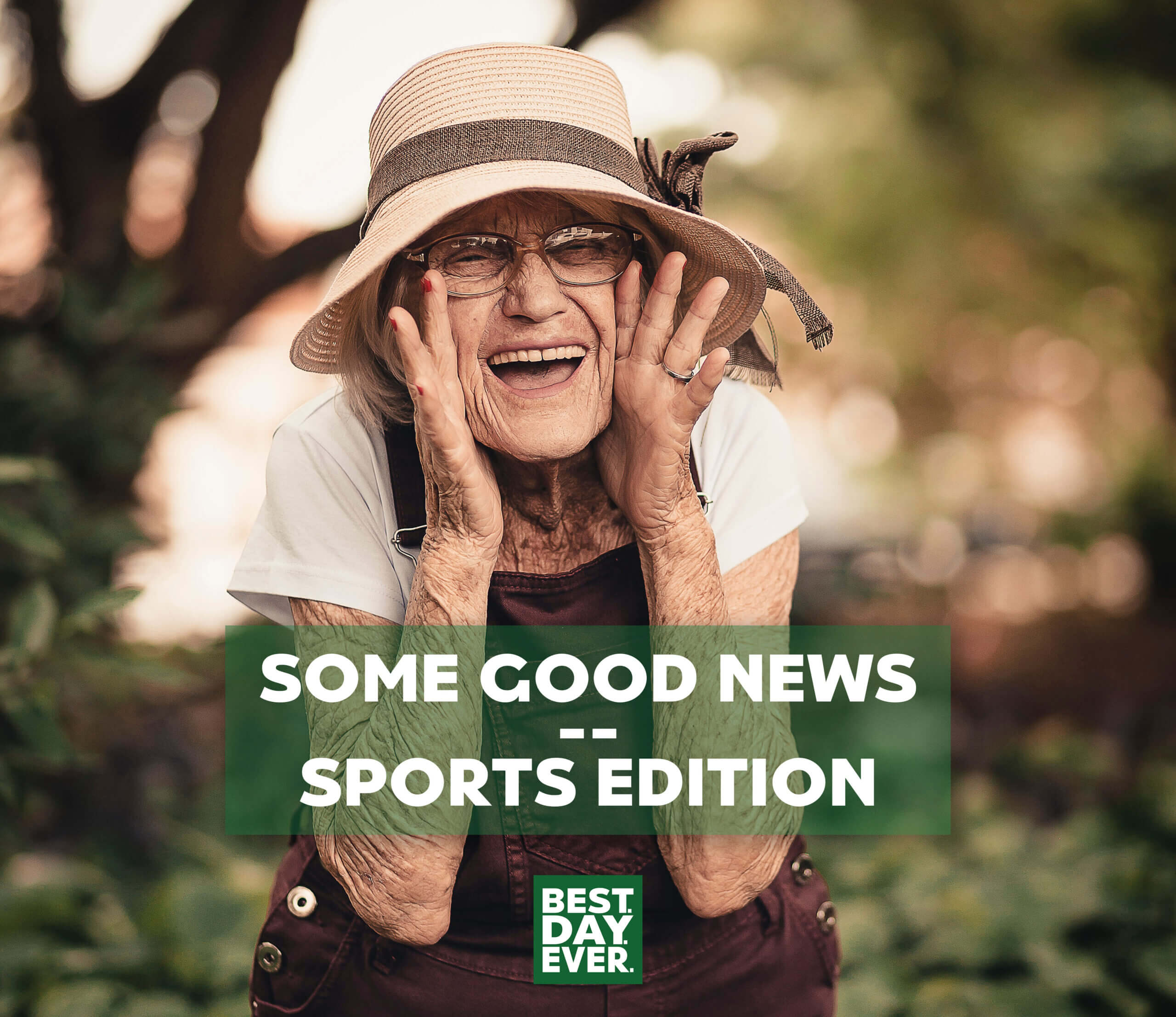 Some Good News – Sports Edition   5.5.20