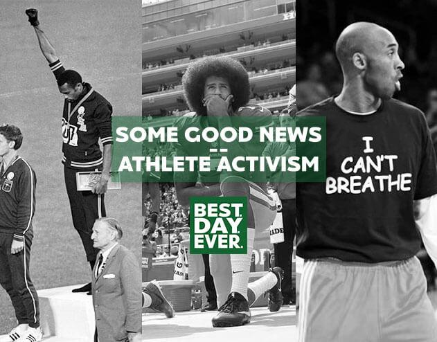 Some Good News – Athlete Activism Edition   6.3.20