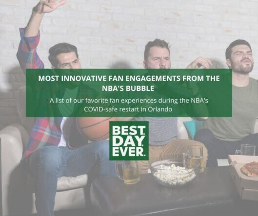 Most Innovative Fan Engagements from the NBA's Bubble