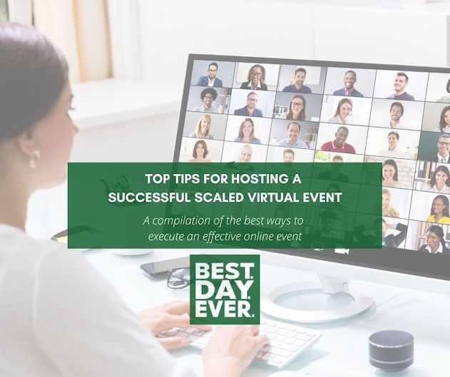 Top Tips for Hosting a Successful Scaled Virtual Event: Part One