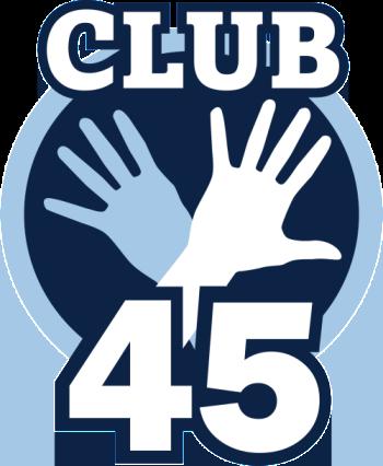 club 45 logo