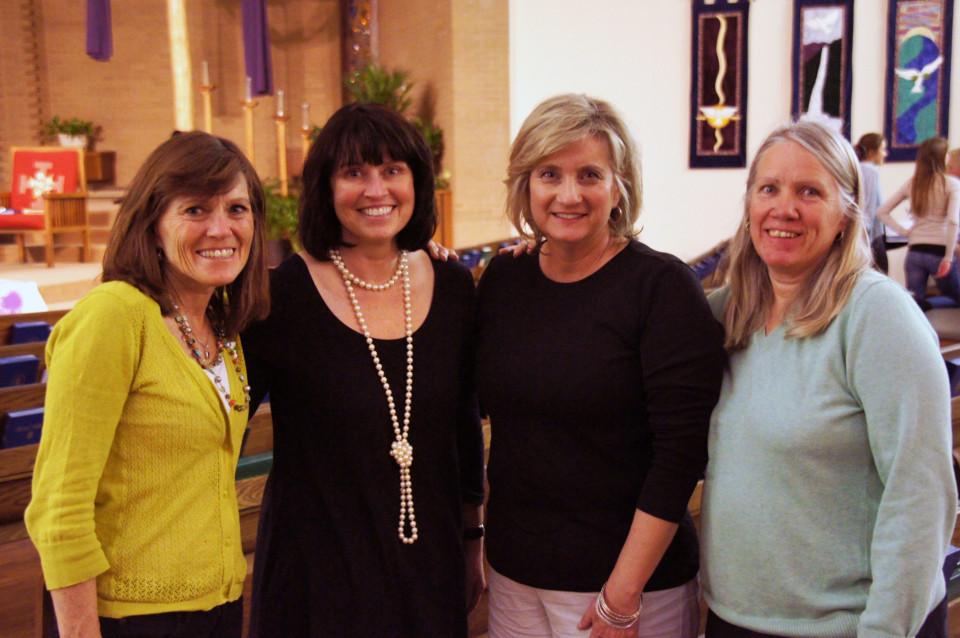 Ladies at Wellshire fundraiser