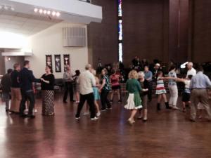 Swing Dance at Wellshire, October 2014