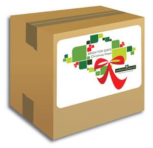 Hunger Task Force Christmas Food Boxes