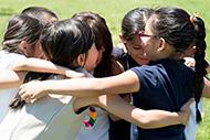 Kids at Schmitt Elementary School