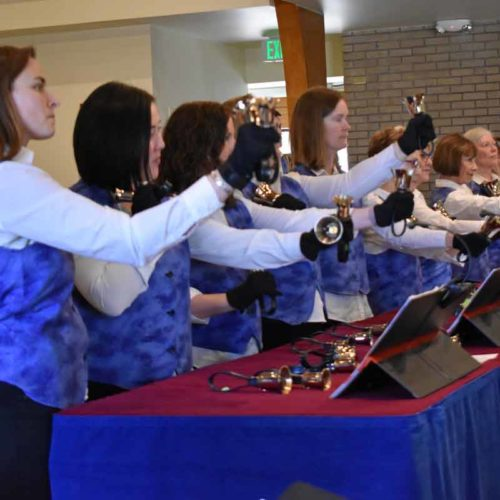 Hand Bell choir at Wellshire