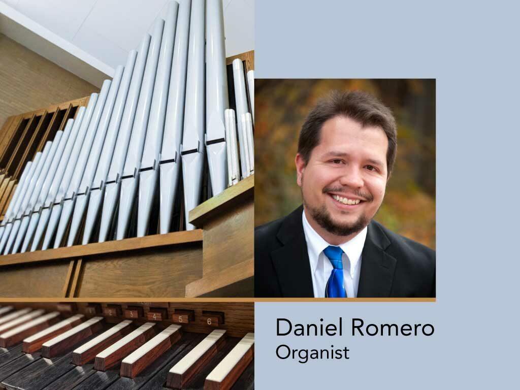 Daniel Romero, organist
