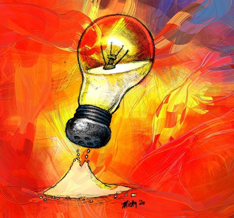 "sermon illustration, ""salt and light"" by Timothy Mietty"