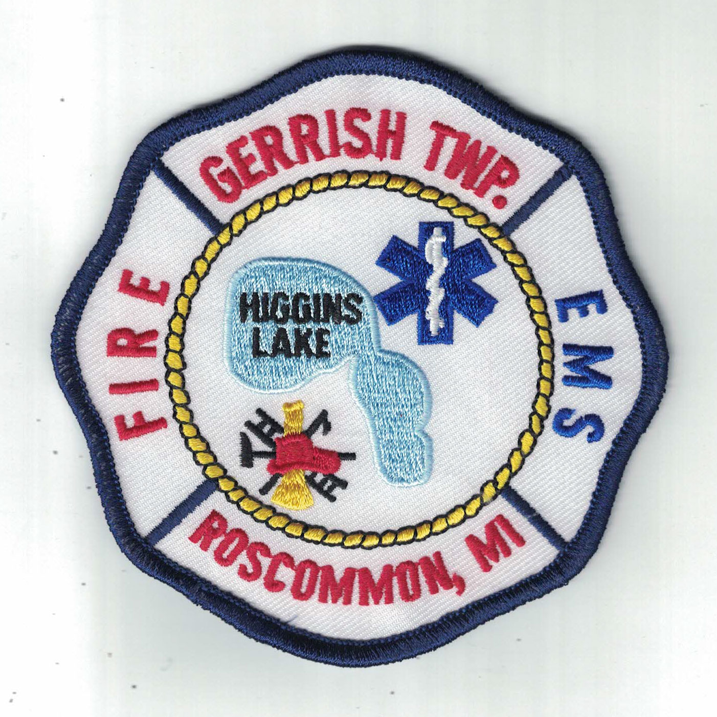 Gerrish Fire Fighters Association patch