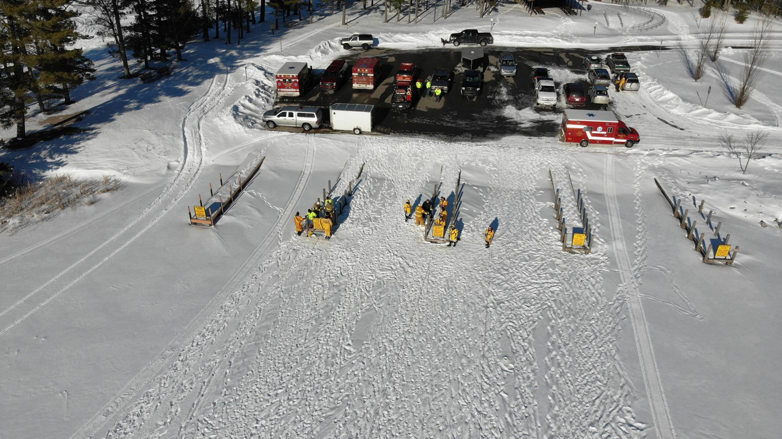 Ice Rescue Training Hosted by Gerrish Twp. Fire/EMS Dept.