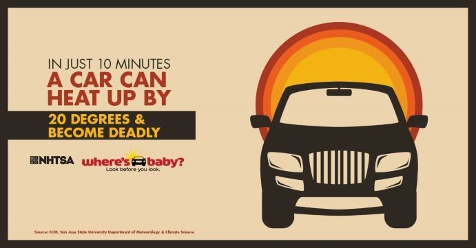Look Before You Lock – Prevent Vehicular Heatstroke