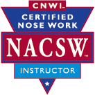Certified Nose Work Instructor Seal