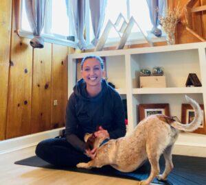 Loren and her dog Kaiza
