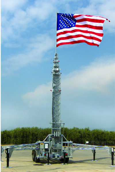 RMTU3107 with flag
