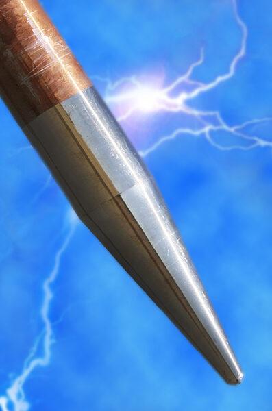 Web Blue Lightning Rod New Crop
