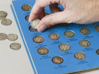 mercury dime collection