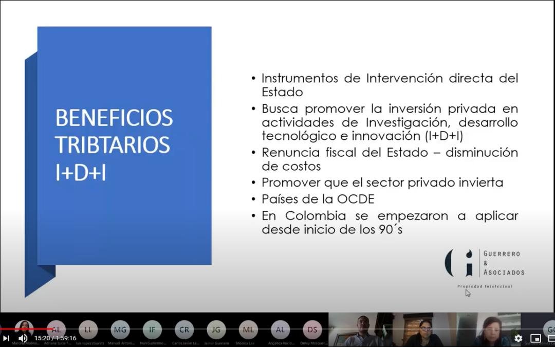 Reunión virtual del club del área de Internacionalización