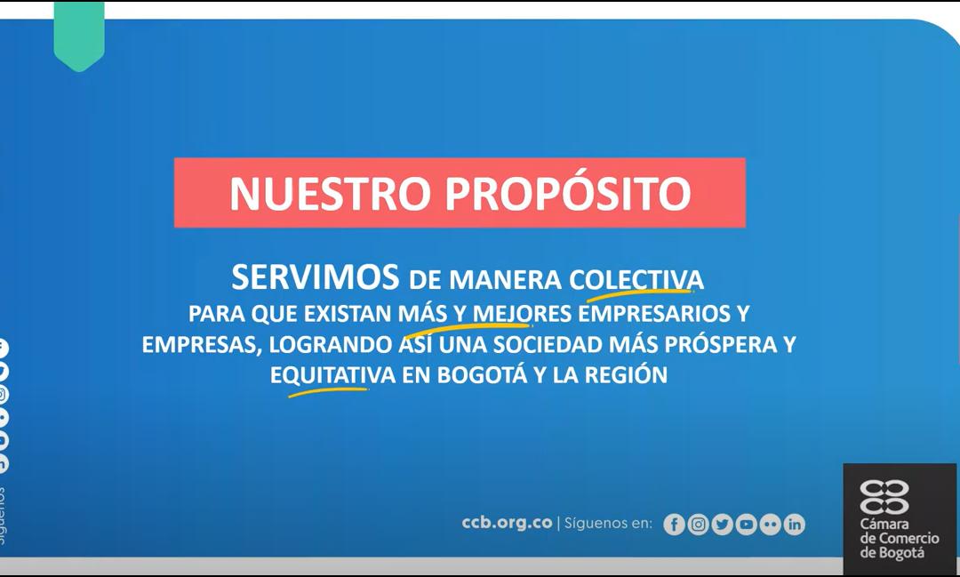 Reunión socialización programa de reinvención de negocios, por la Cámara de Comercio de Bogotá para las empresas asociadas a Sinertic