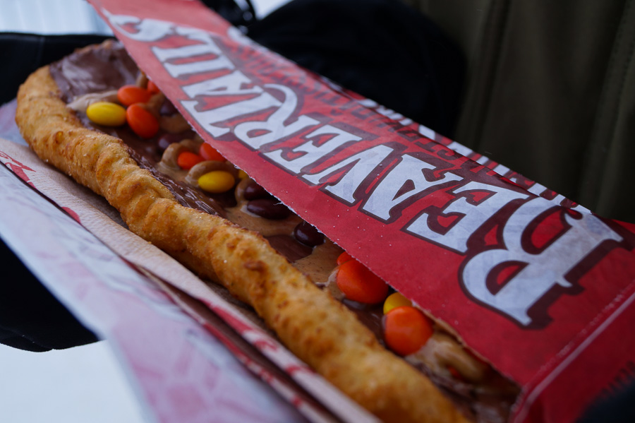 Eating Beaver Tails
