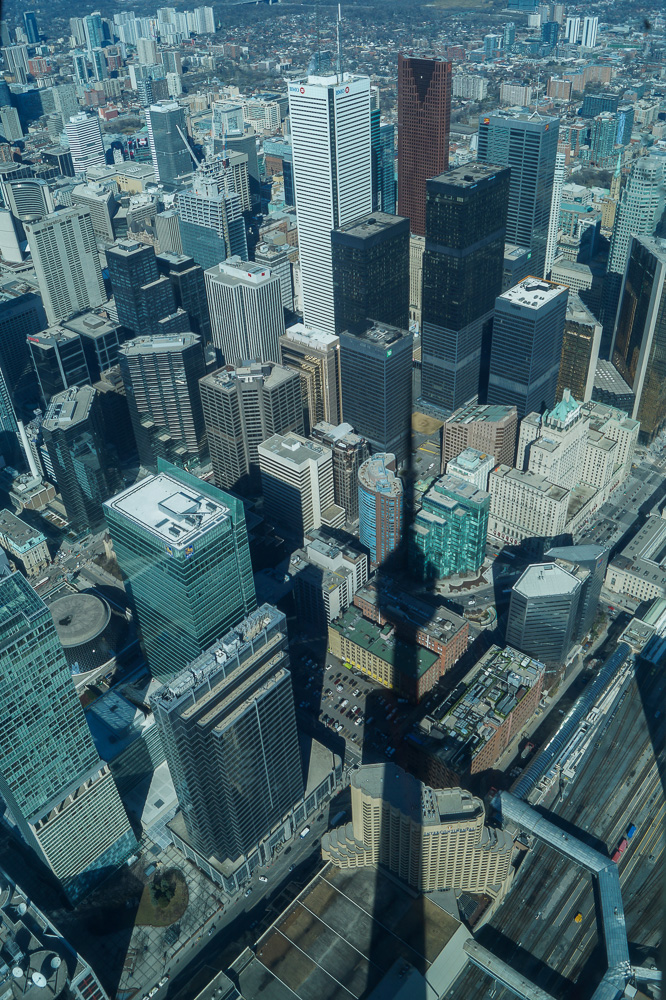 View from CN Tower SkyPod