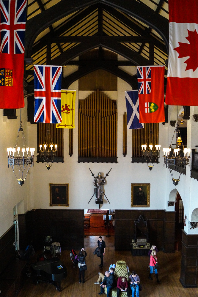 The Great Hall in Casa Loma