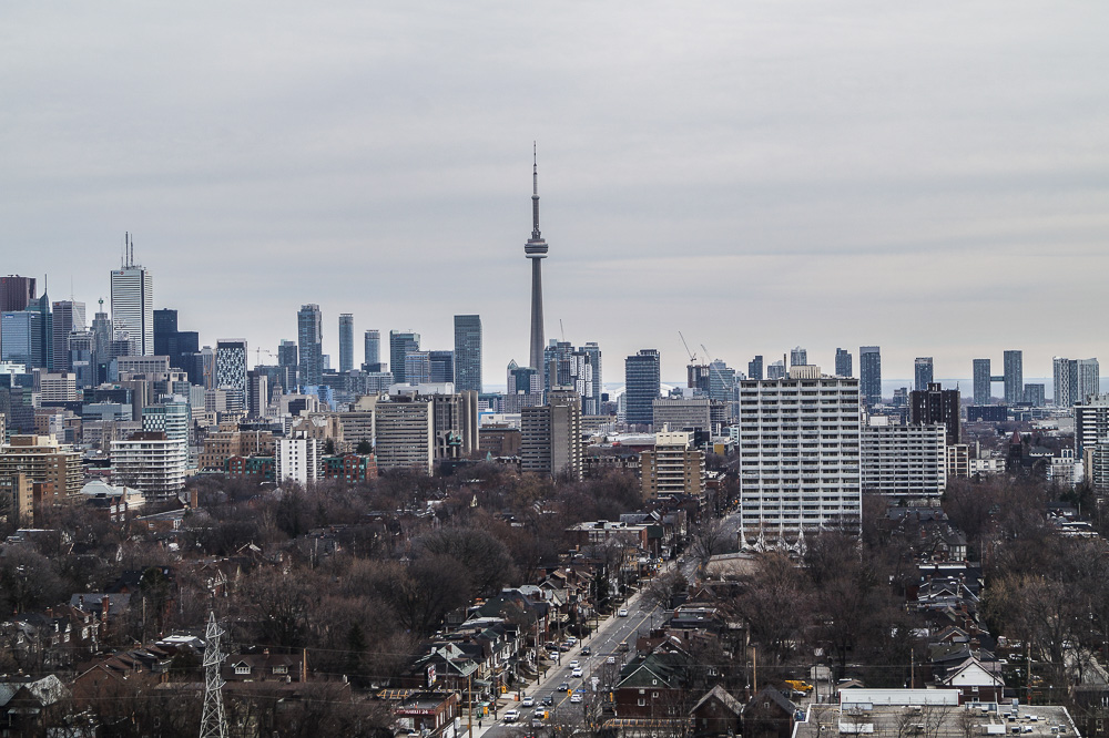 View from the tower in Casa Loma