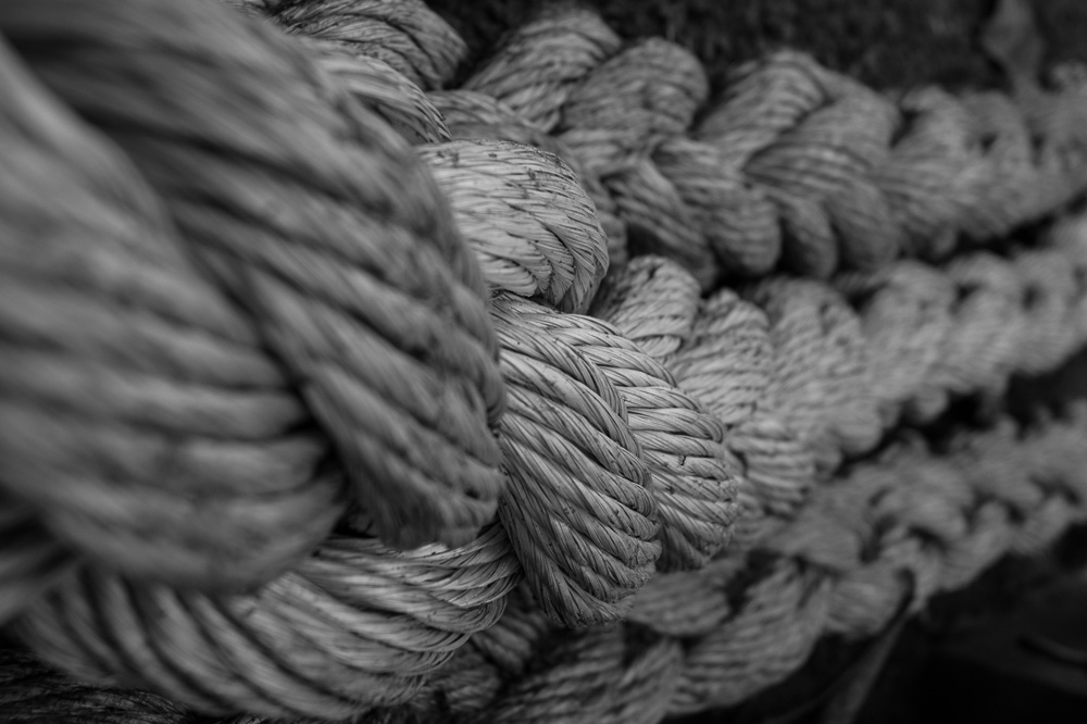 Rope in Copacabana Beach