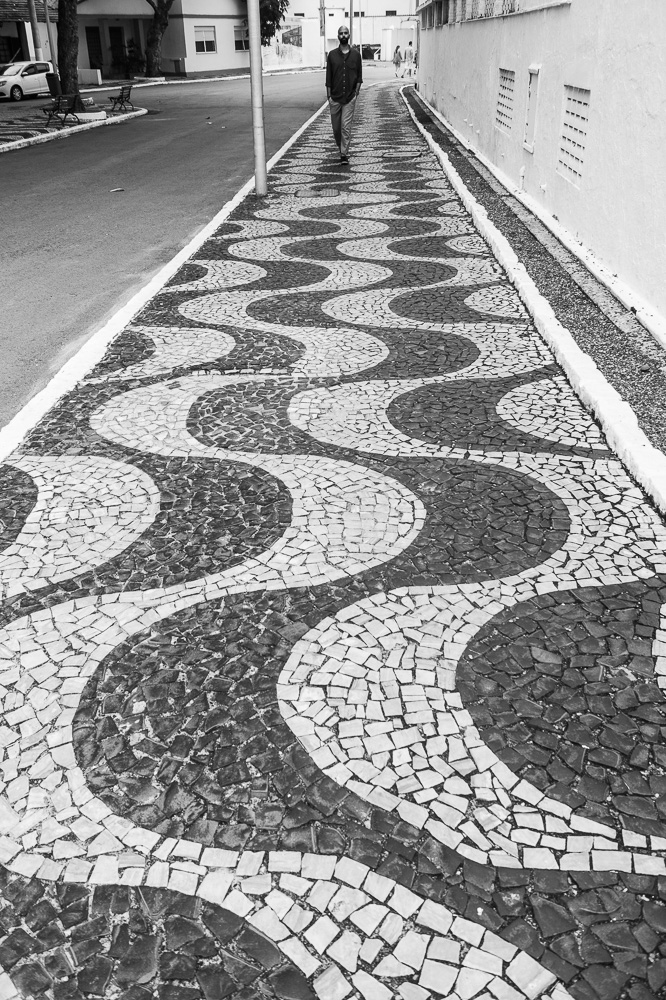 Sidewalk in Copacabana Beach