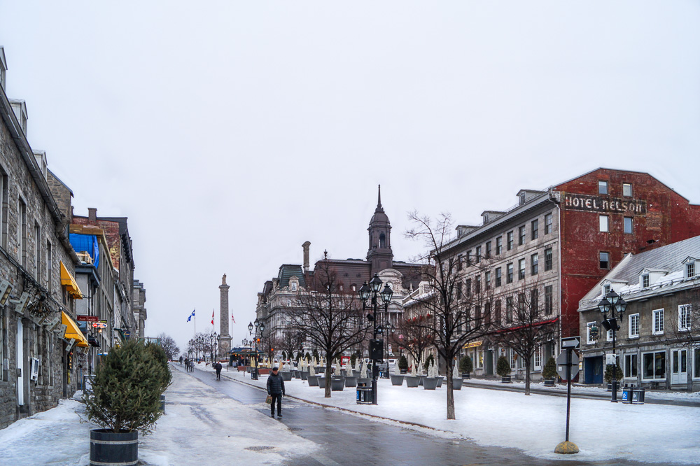 Place Jacques Cartier in Old Montréal