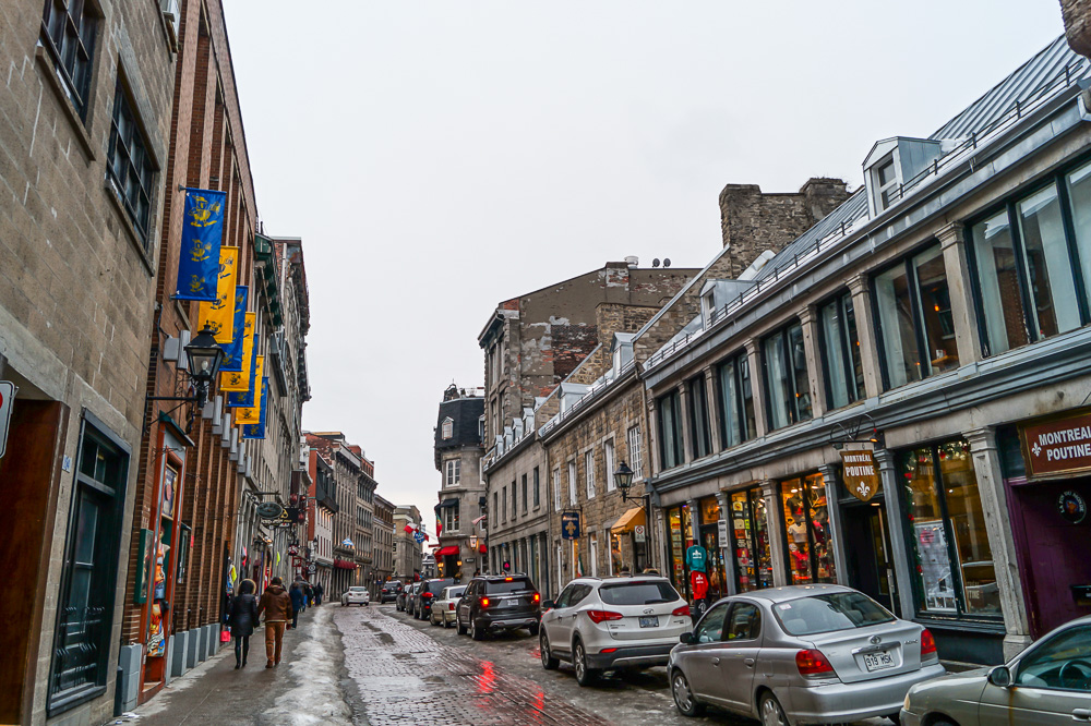 Rue St-Paul in Old Montréal