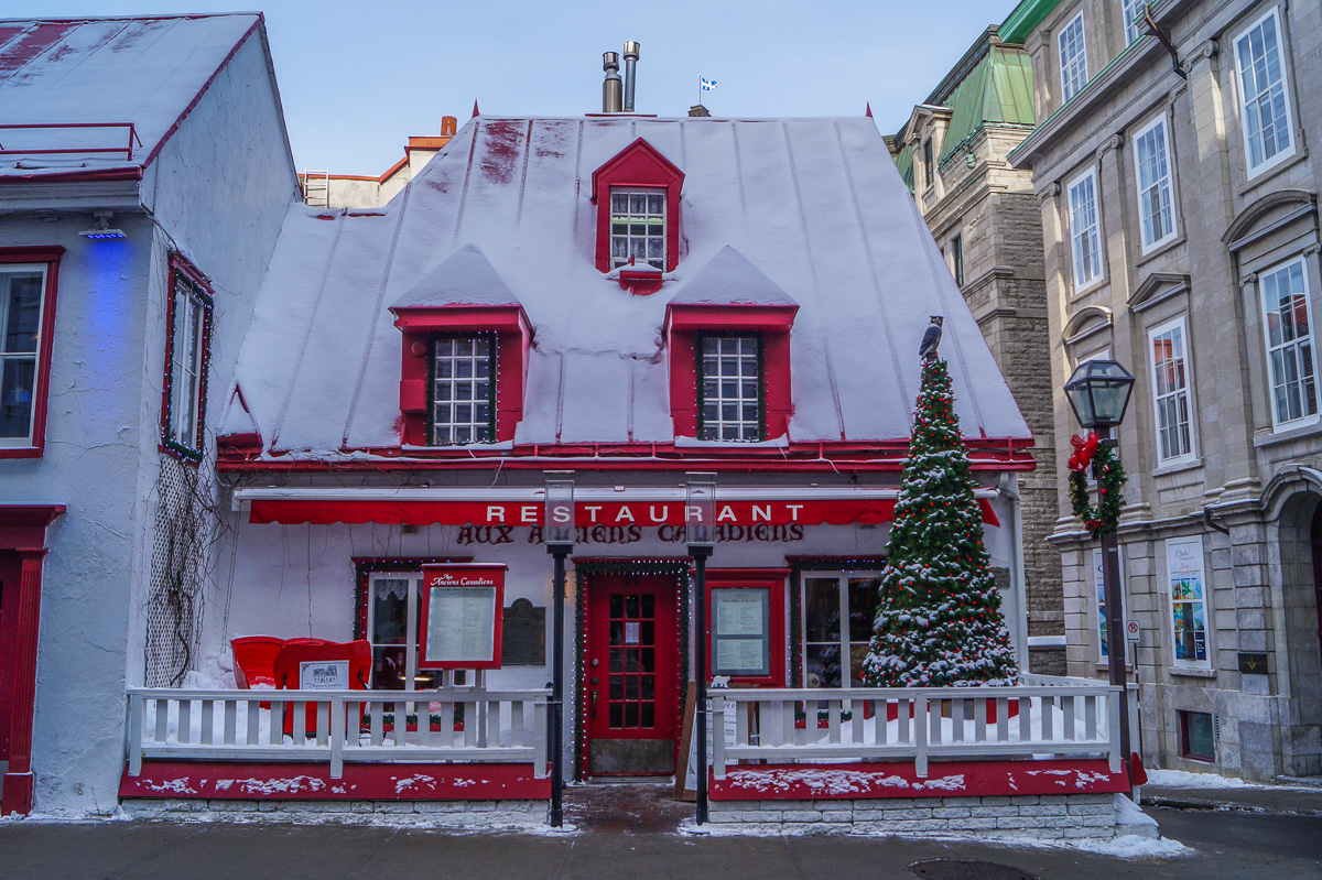 Comfort food in Quebec City: Aux Anciens Canadiens