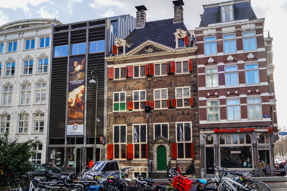 Rembrandt House Museum in Amsterdam