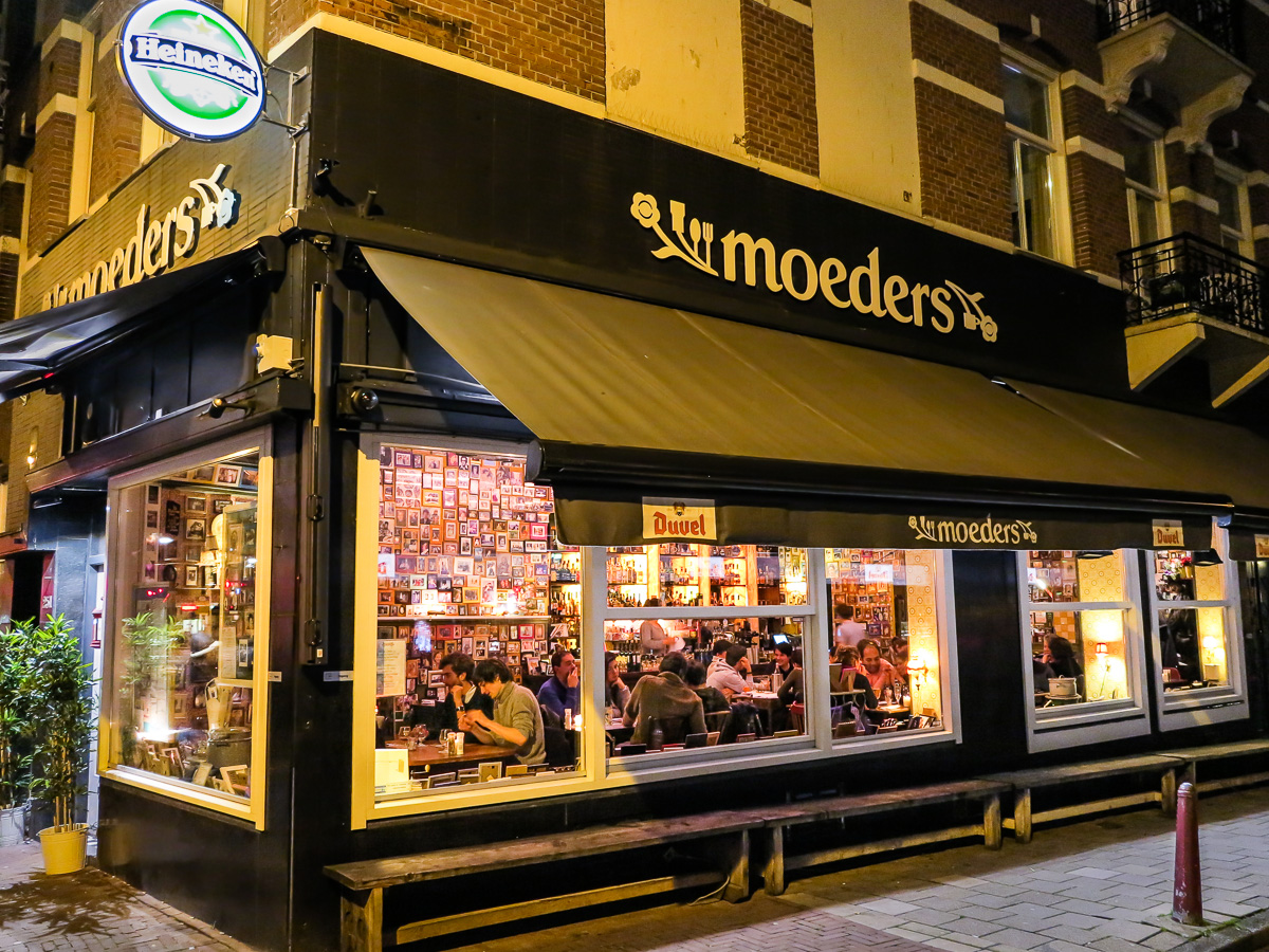 Restaurant Moeders in Amsterdam