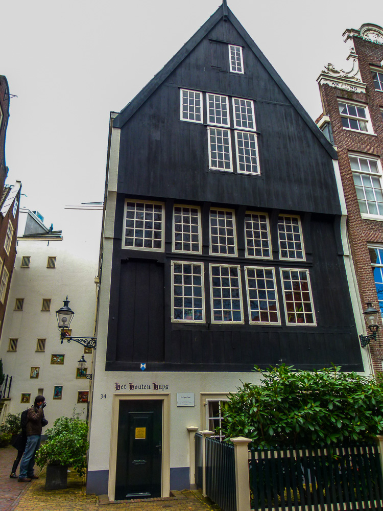 Oldest wooden house in Amsterdam