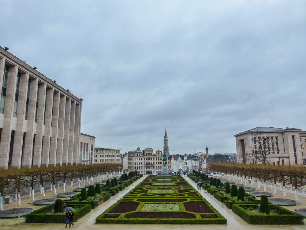 Mont des Arts in Brussels