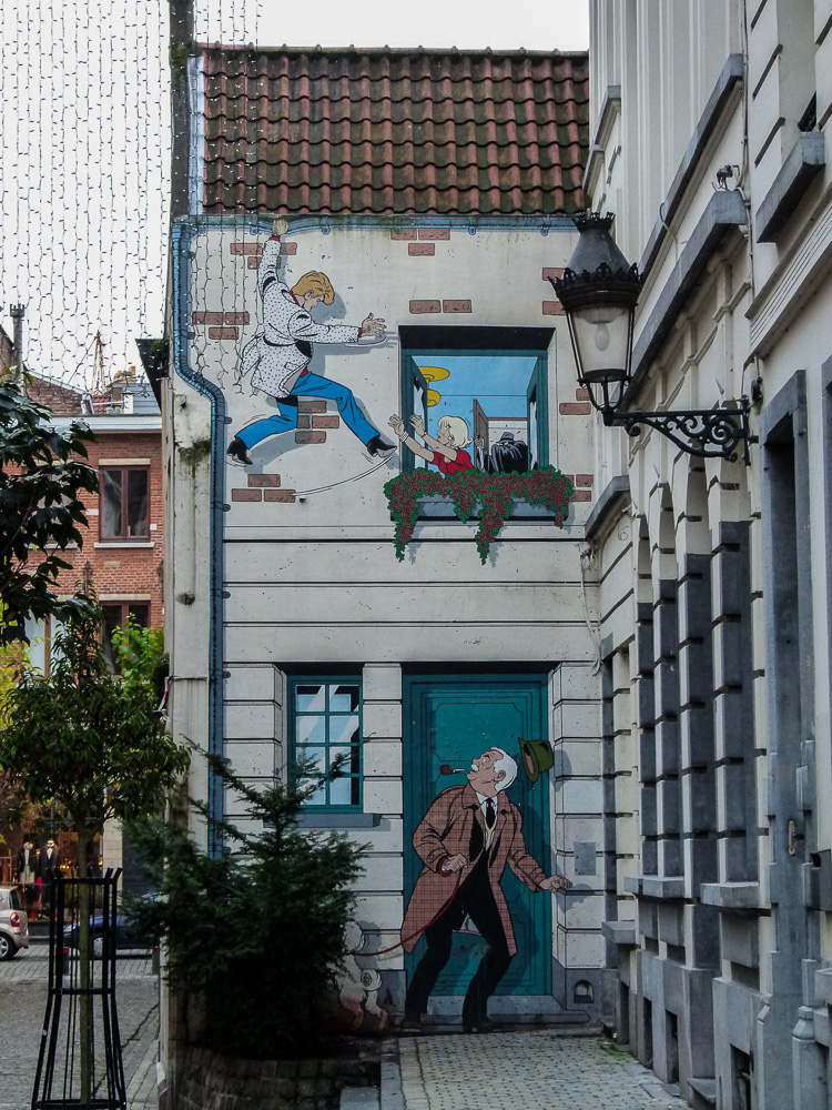 Graffiti in Brussels