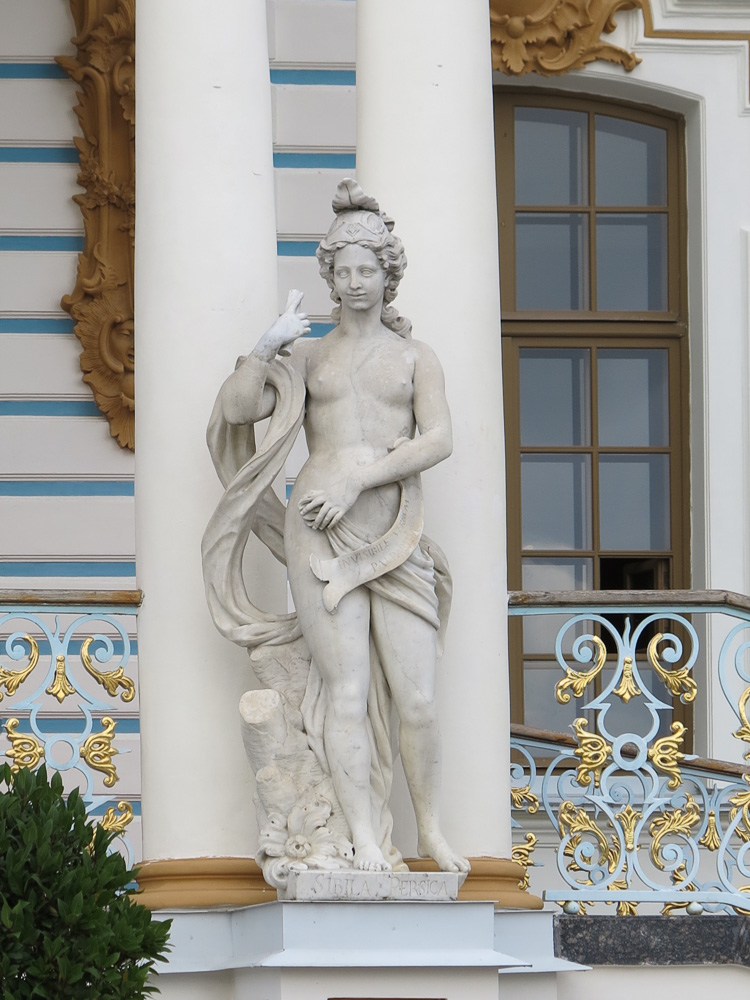 Sculpture in the Catherine Palace in Tsarskoye Selo