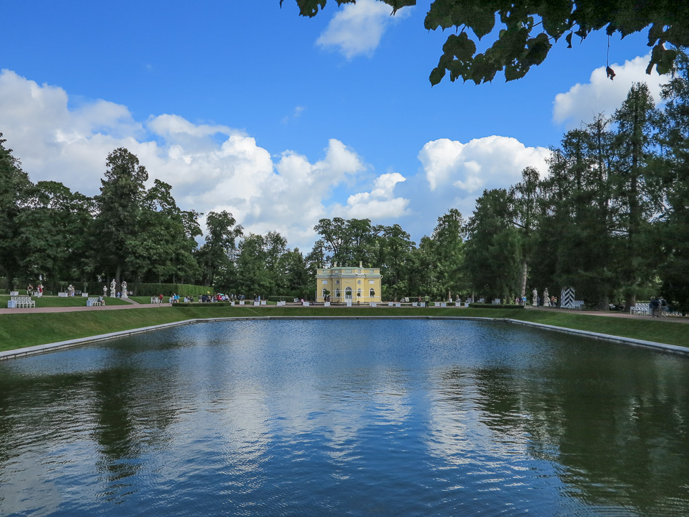 The Upper Bathhouse in the Catherine Palace in Tsarskoye Selo